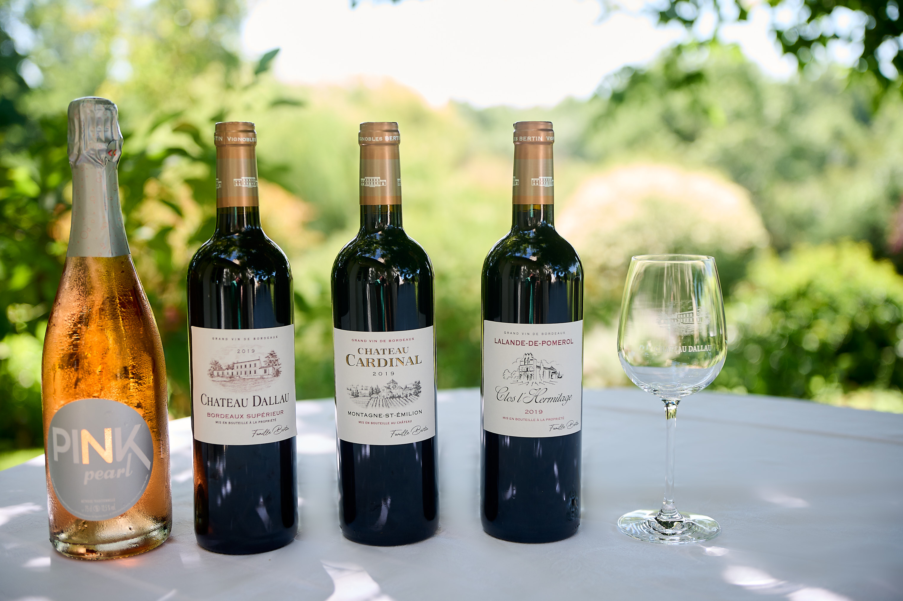 La gamme de nos vins chez Vignobles Bertin !