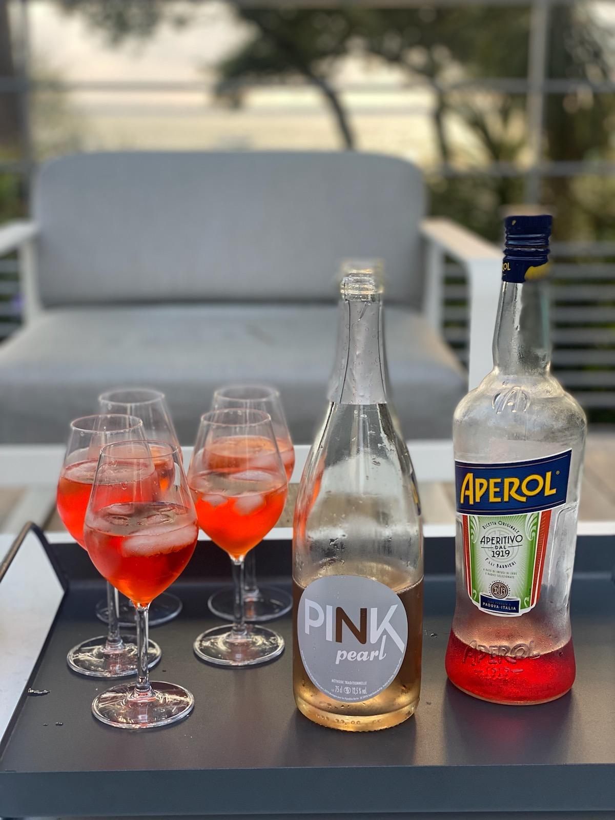 Idée cocktail Pink Pearl