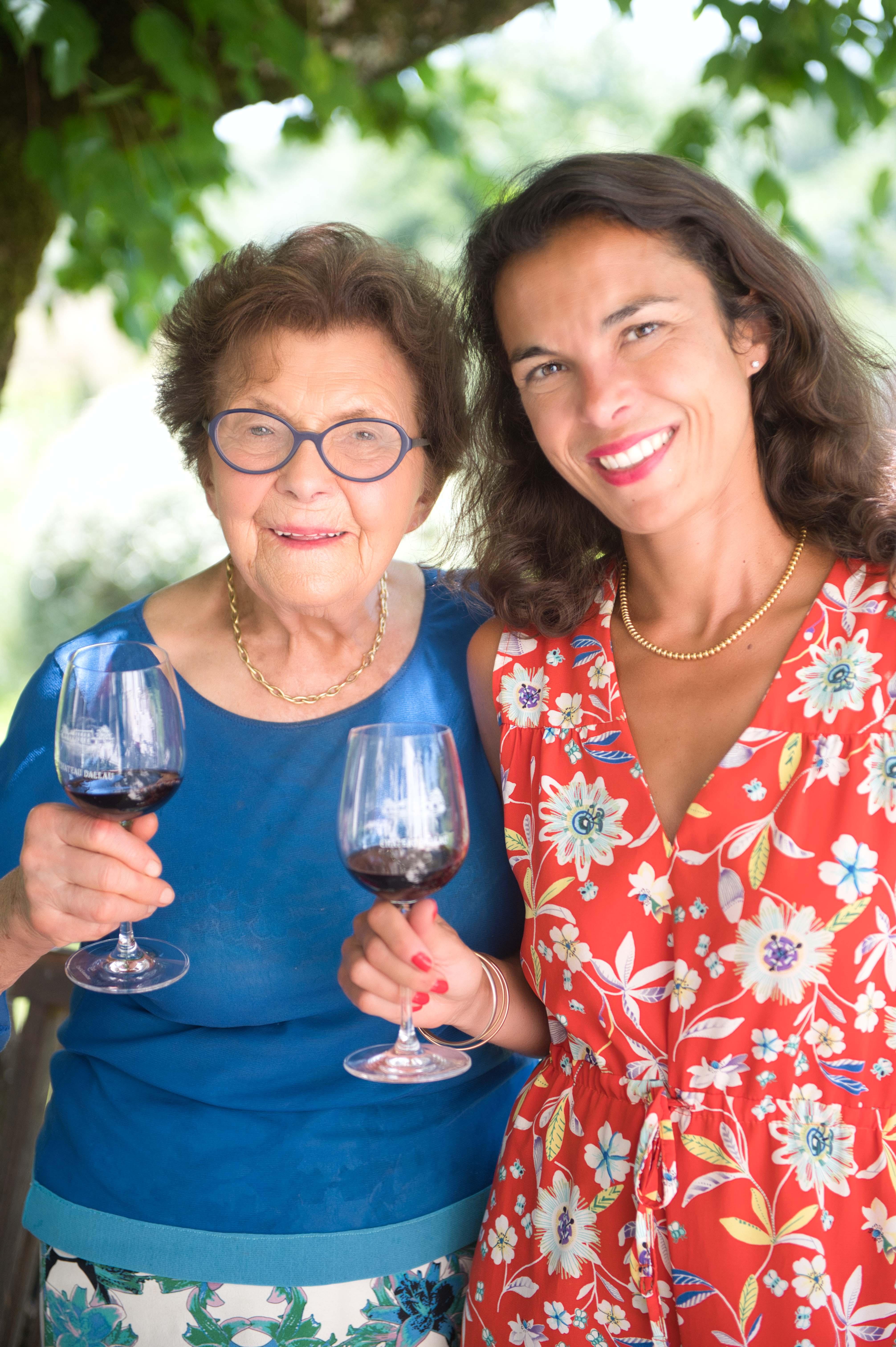 Mamie et Sarah